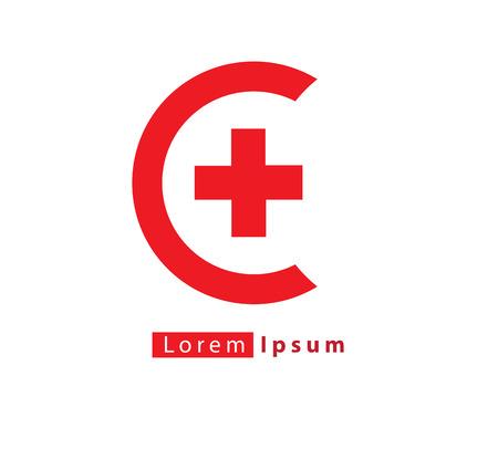 Medicine logo concept design. AI 10 supported. Logó