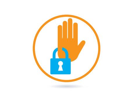 Security Icon design.