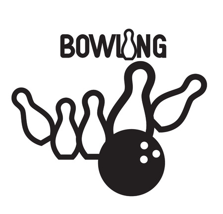brand activity: Bowling Logo Design Concept. AI 10 supported. Illustration