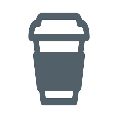coffe cup: Paper Coffe Cup Design, AI 8 supported.