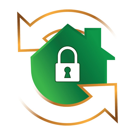 security system: Icon for Home Security System, AI 8 Supported.