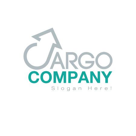 Cargo Logo Design Concept. AI 10 supported.