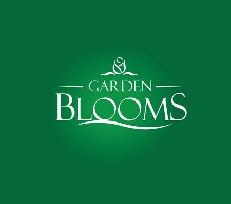 blooms: Garden Blooms Logo Concept.  AI 10 supported.