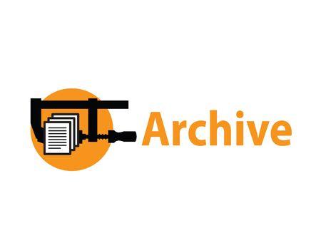Archivo Logo Design Concept