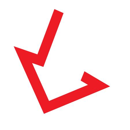 upward movements: Arrow icon design concept. AI 10 supported.
