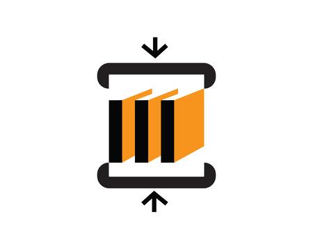 Archive Logo Design Concept Illustration