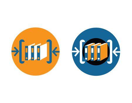 아카이브 로고 디자인 개념