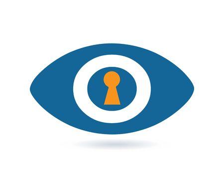 rar: Security Archive Concept With Eye