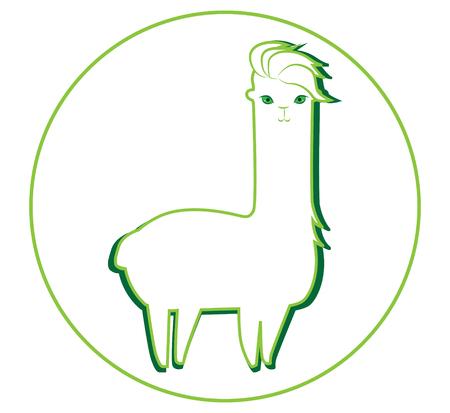 Lama and Lama Yarn Concept Design.