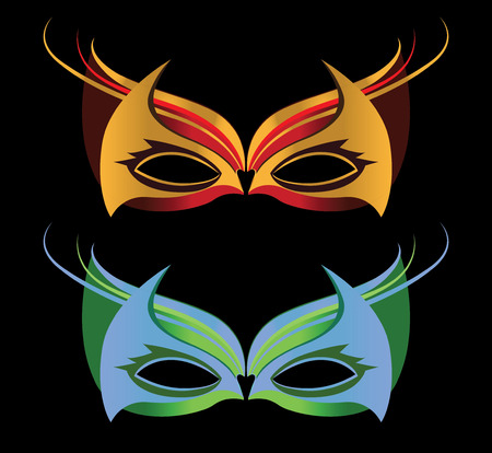 Masquerade Glasses Design.