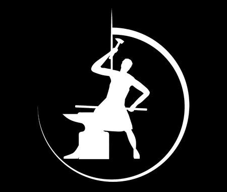smithery: Blacksmith Concept Design Illustration