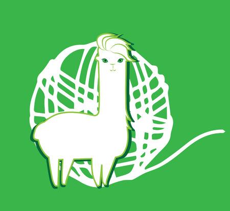 mohair: Lama and Lama Yarn Concept Design