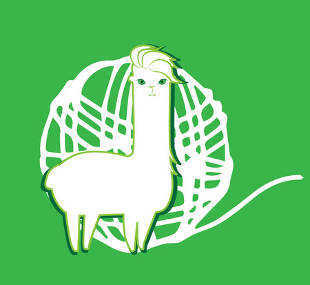 Lama and Lama Yarn Concept Design