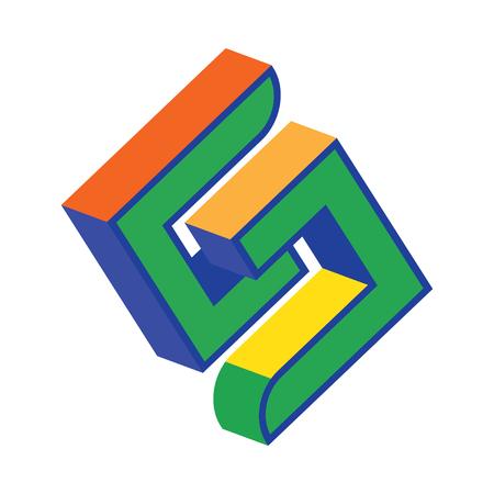 concept design for S letter.
