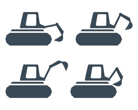 Construction Digger Concept Design