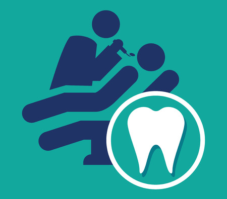 Dentist Icon, AI 8 supported. Illustration