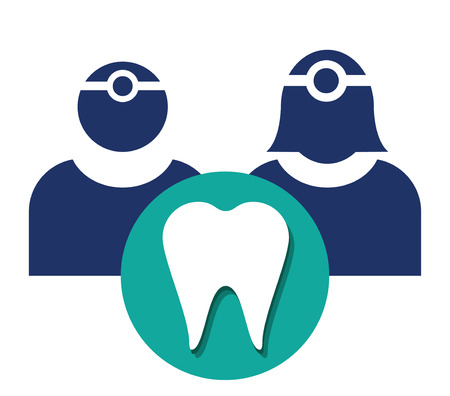 Dentist Icon, AI 8 supported. Illustration