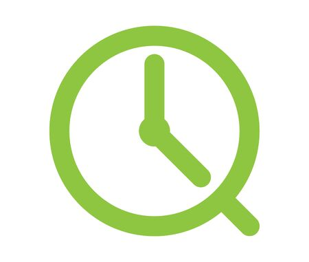 Clock Icon Design, AI 8 supported.