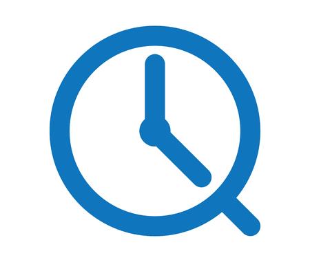 Clock Icon Design, AI 8 supported.
