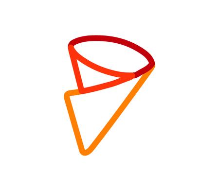 Crepe Icon Design, AI 8 supported.