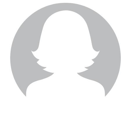 Gris Femme Avatar Conception