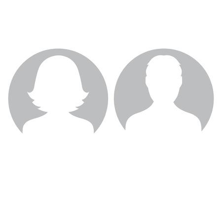 Gris determinado del avatar