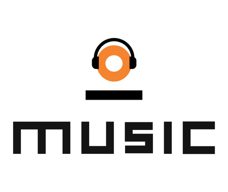 Music Design mit Headset.