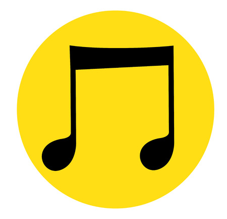 Music Note Icon Design