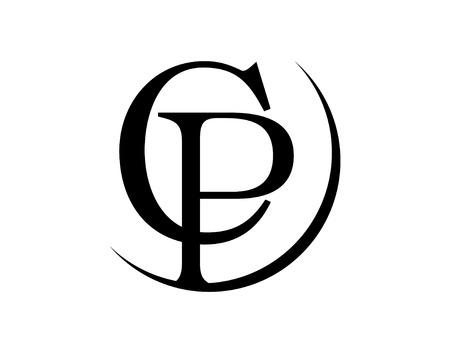 CP 로고 디자인 일러스트