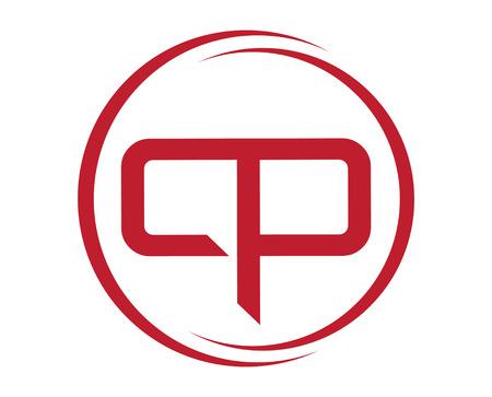 CP Logo Design Ilustração