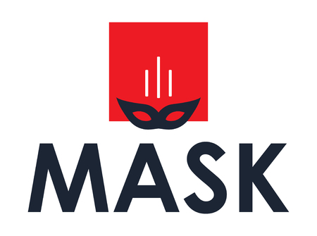 unmask: Mask Concept Design, AI 8 supported. Illustration