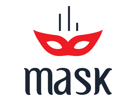 confess: Mask Concept Design, AI 8 supported. Illustration