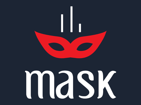 dishonesty: Mask Concept Design, AI 8 supported. Illustration