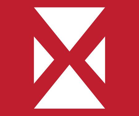 cancellation: Crossed Icon Design. AI 10 supported.