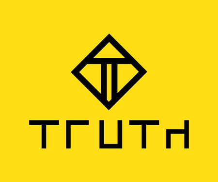 truth: Truth Logo Design Concept, AI 10 supported.