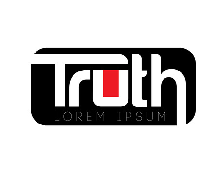Truth Logo Design Concept, AI 10 supported.
