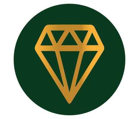 Diamond Icon Design, AI 10 support.