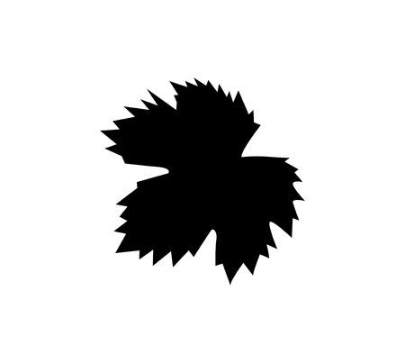 grape leaf: Grape Leaf Icon Design, AI 8 supported.