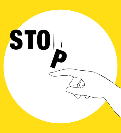 Protest Poster for Stop. AI 10 supported.
