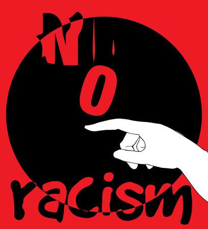 insurrection: No Racism Concept Design. AI 10 supported.
