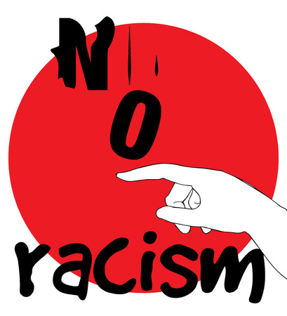 No Racism Concept Design. AI 10 supported.