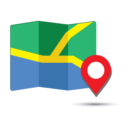map pin: Map Icon and Pin Design