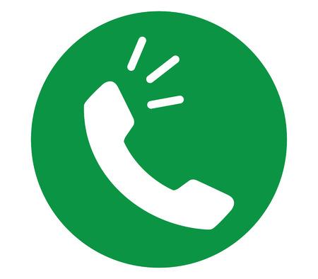 전화 아이콘 컨셉 디자인