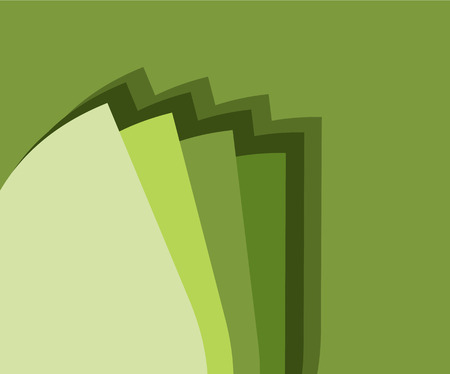 secondary colors: Green Background with Color Scale Illustration