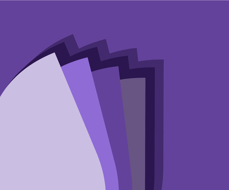 secondary colors: Purple Background with Color Scale Illustration