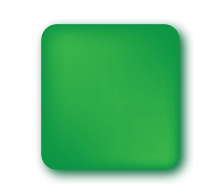 blank button: Green Blank Button Design.