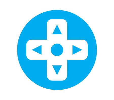 Game Console Design. Illustration