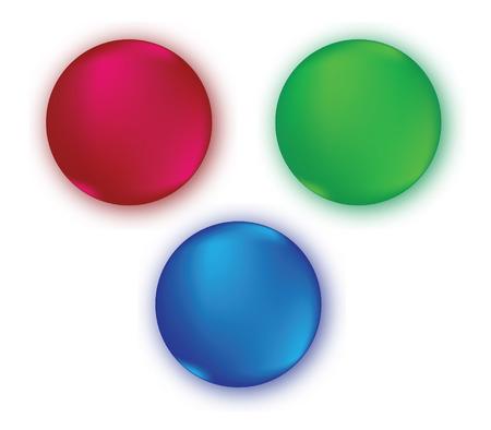 rgb: RGB Color Set Design. Illustration
