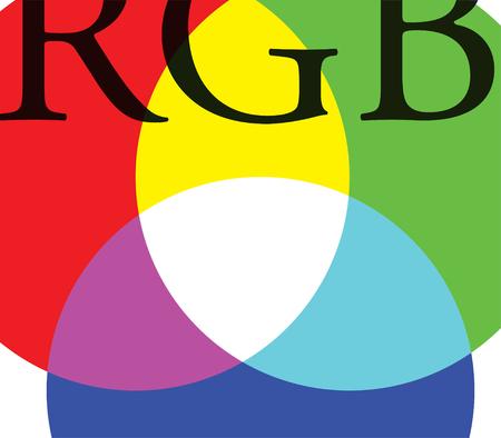 rgb: RGB Background Design. Illustration