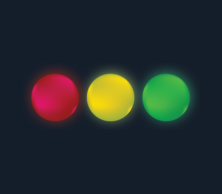 Traffic Lights Concept Design. Illustration